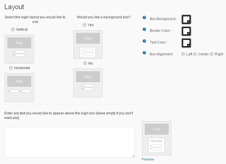 Wishlist Post Login - layout