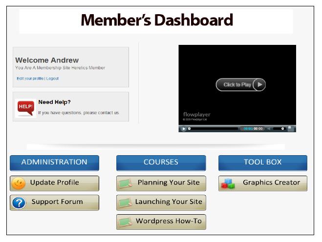 member-dashboard-final-result