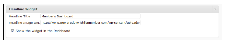 member-dashboard-headline-widget