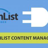 Wishlist Content Manager - Wishlist Member Dedicated Plugin