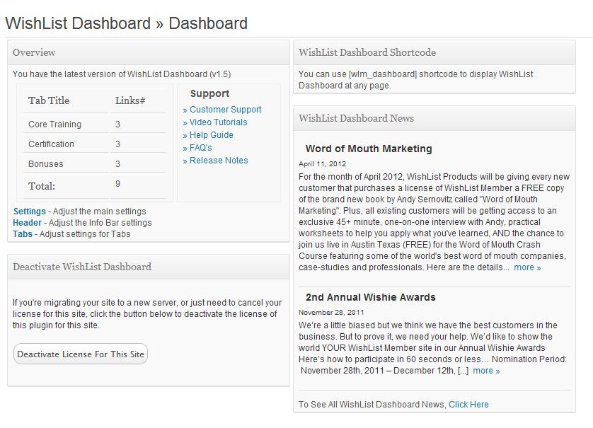 Wishlist_Dashboard