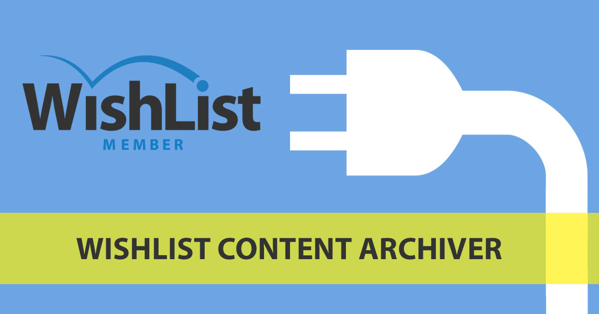 WishList Content Archiver