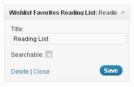Wishlist-Favorites-Reading-List-Widget