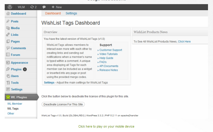 Wishlist Tags Tutorial