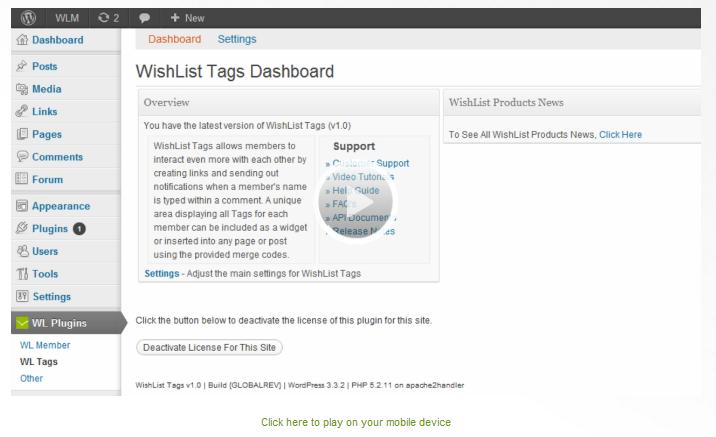 Wishlist Tags Tutorial
