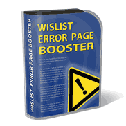 Wishlist Error Page Booster