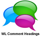 WL Comment Headings