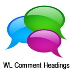 Wishlist Comment Headings