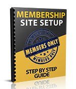 Thanks for Purchasing Membership Sites Setup Step By Step Guide!