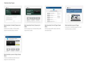 OptimizePress 2.0 Membership Pages
