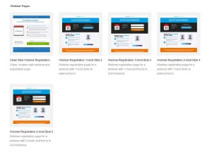 OptimizePress 2.0 Webinar Pages