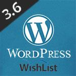 Wishlist Member and Wordpress 3.6