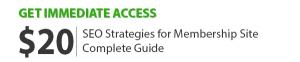 SEO Strategies for Membership Sites