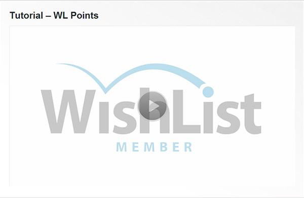 Wishlist Points Tutorial | Wishlist Member Plugins Reviews