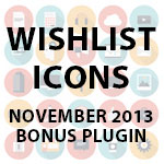 Wishlist Icons Overview – Wishlist Insider's Bonus Plugin (November 2013)