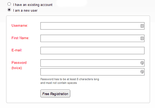 Wishlist Member Registration Form New