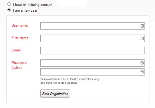 Wishlist Member Registration Form New
