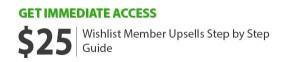 Wishlist Member Upsells Step by Step Guide