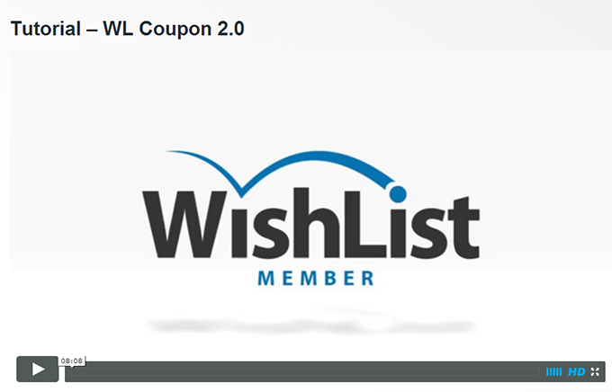 Wishlist Coupon 2.0 Tutorial