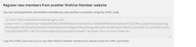 Wishlist 1Click Registration