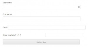 Wishlist Registration Widget in Posts and Pages