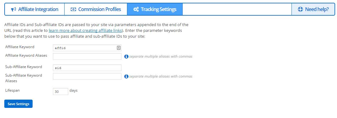 MemberMouse Affiliates Tracking