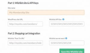 Wishlist Member ThriveCart Integration Step 1
