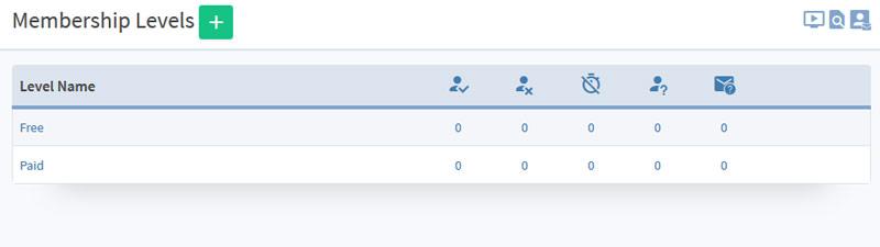 Wishlist Member Membership Levels Tab V3.0